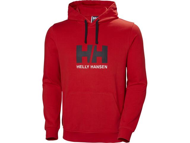 bajo precio e92cf 4cfdb Helly Hansen HH Logo Sudadera Hombre, flag red